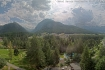 Pontresina III: View from hotel Saratz, Pontresina