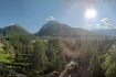 Pontresina III: Ausblick Hotel Saratz, Pontresina