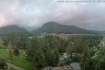 Pontresina III: Vista dall'hotel Saratz, Pontresina