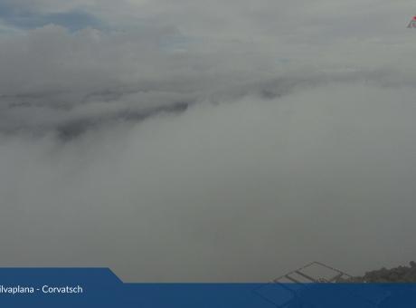 Corvatsch, Blick Bernina