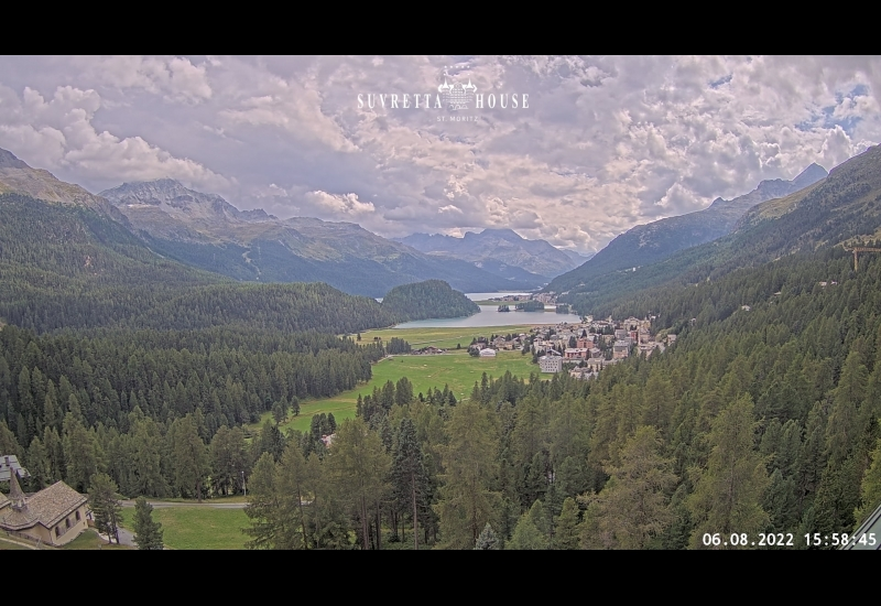 Live webcam View Hotel Suvretta House