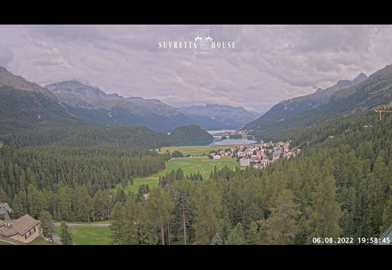 Webcam en direct View Hotel Suvretta House