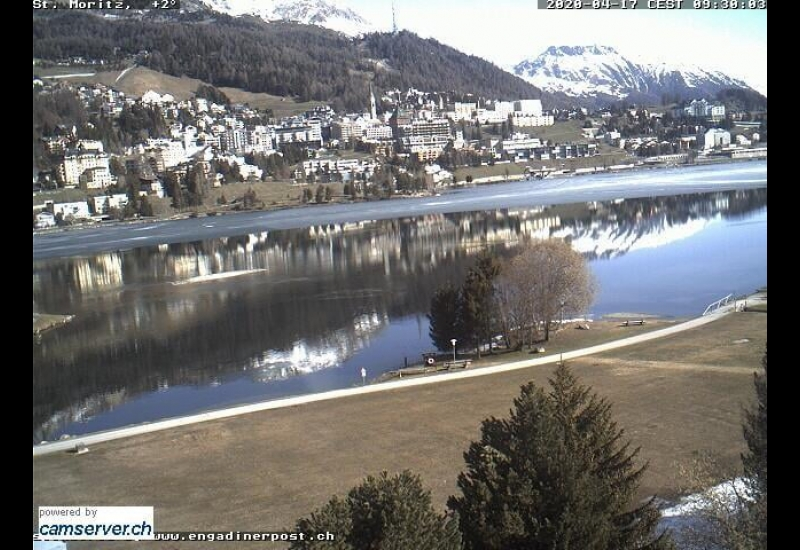 Webcam en direct Lake St. Moritz