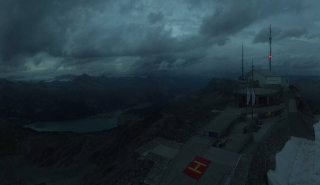 Corvatsch Panorama View