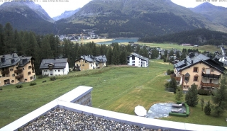 View from Hotel Nira Alpina