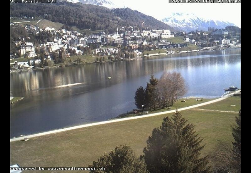Webcam Lake St. Moritz